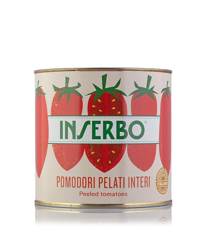 Inserbo Conserve BIO - Pomodori pelati in succo 2,5Kg. x 6pz