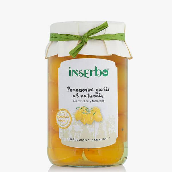 Inserbo Conserve BIO - Pomodorini Gialli al naturale 520gr.