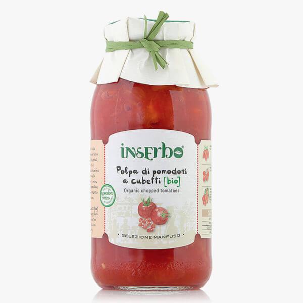 Inserbo Conserve BIO - Polpa di pomodoro biologica 500gr.