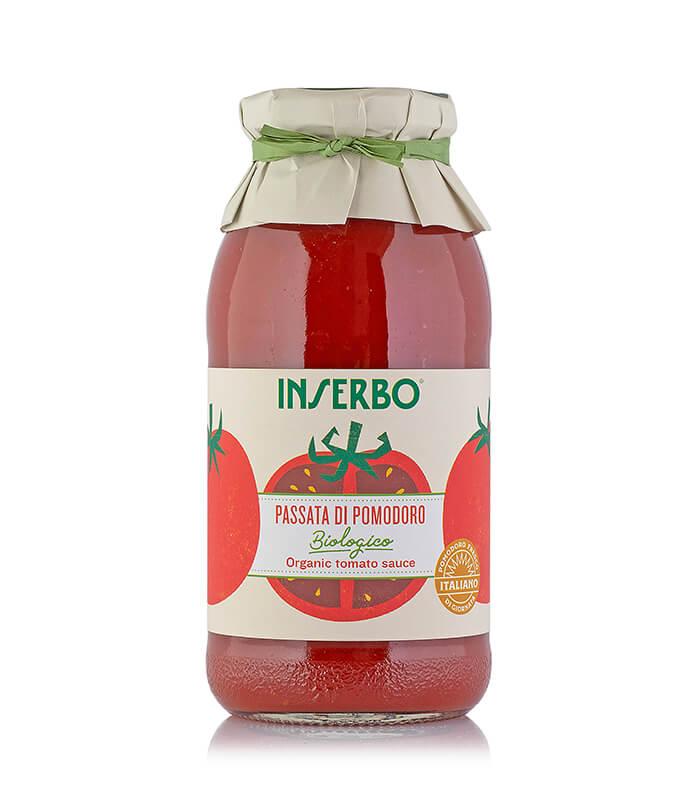 Inserbo Conserve BIO - Passata di pomodoro biologica 500g x 12pz