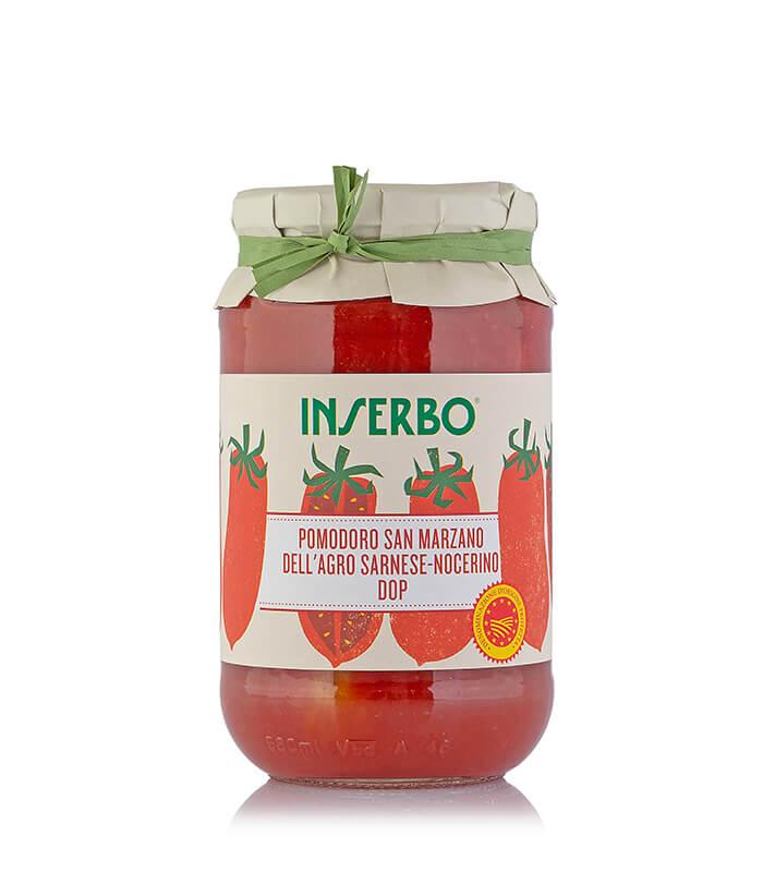 Inserbo Conserve BIO - Pomodoro San Marzano DOP in succo 520g x 12pz