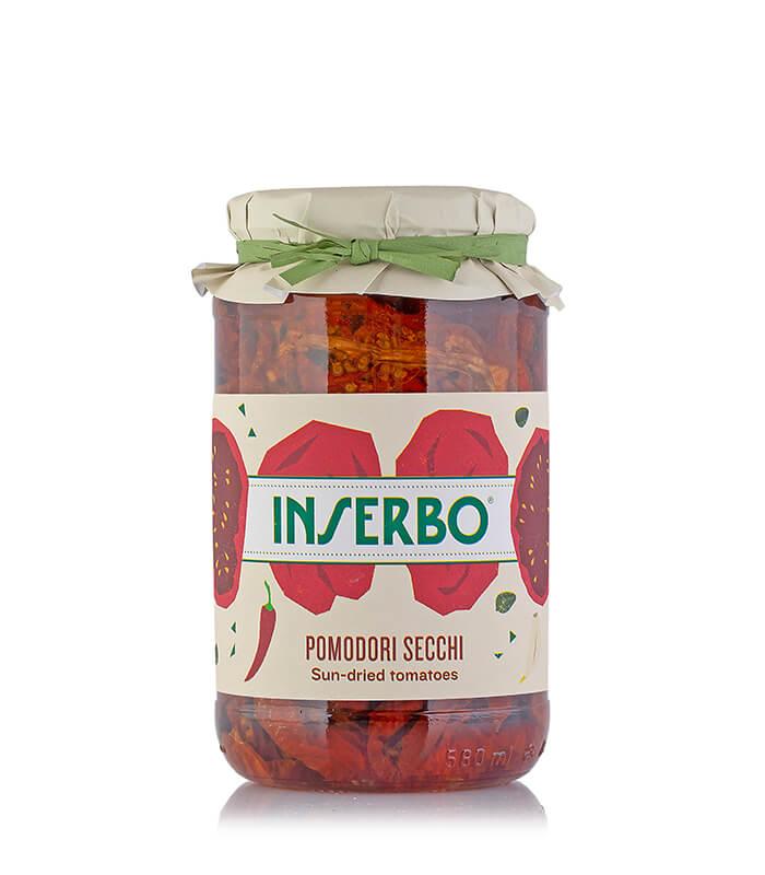 Inserbo Conserve BIO - Pomodori secchi 560g x 12pz