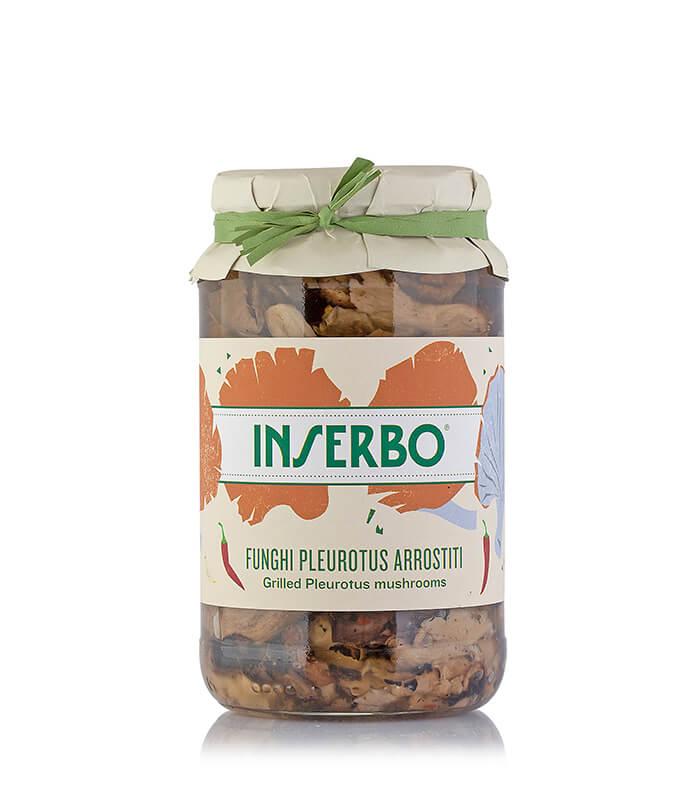 Inserbo Conserve BIO - Funghi Pleurotus arrostiti 560g