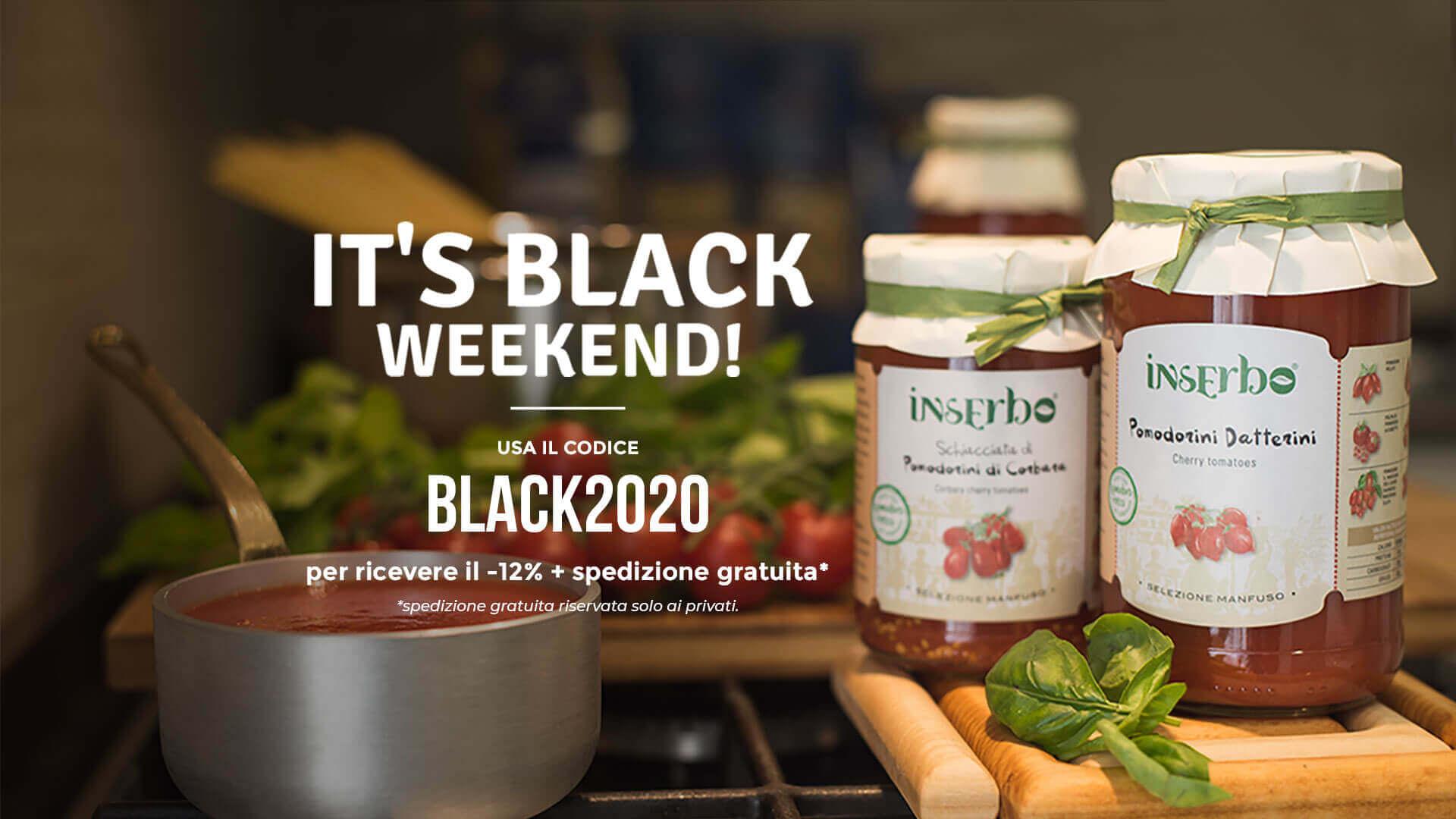 It's Black Weekend -12% Inserbo