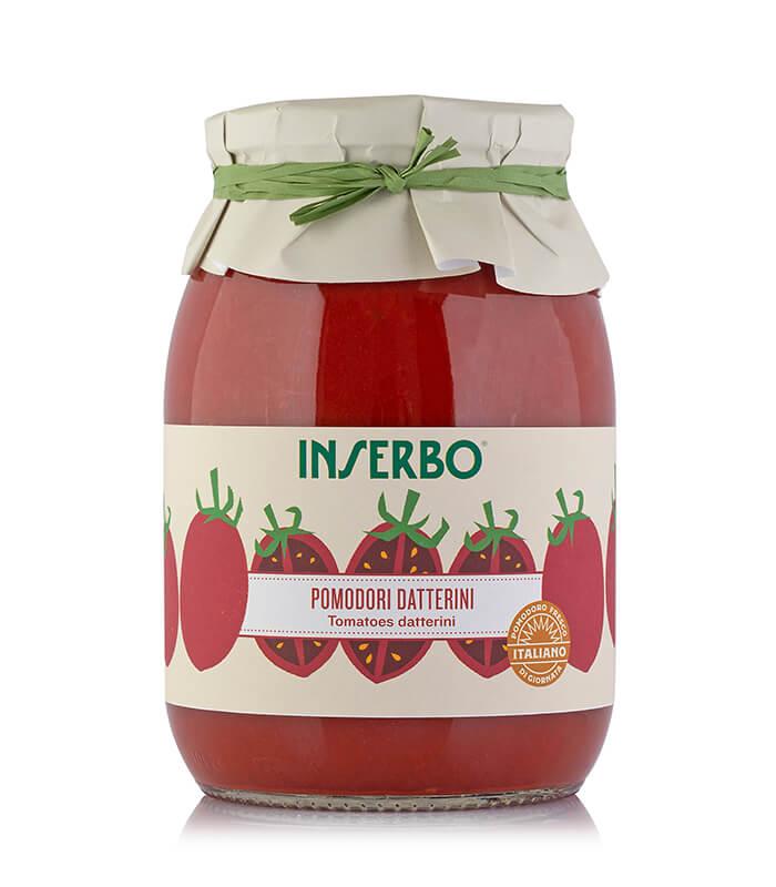 Inserbo Conserve BIO - Pomodoro datterino in succo 950g x 6pz