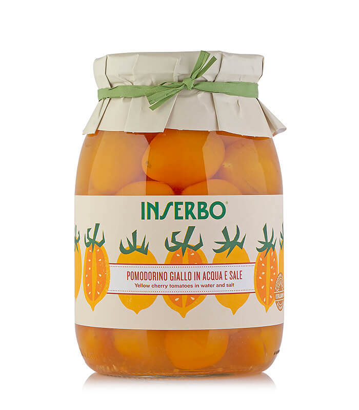 Inserbo Conserve BIO - Pomodorini gialli al naturale 950g x 6pz