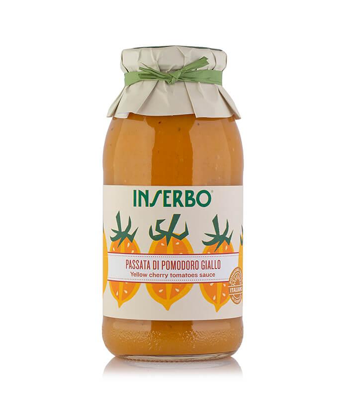Inserbo Conserve BIO - Passata di pomodoro datterino giallo 500g