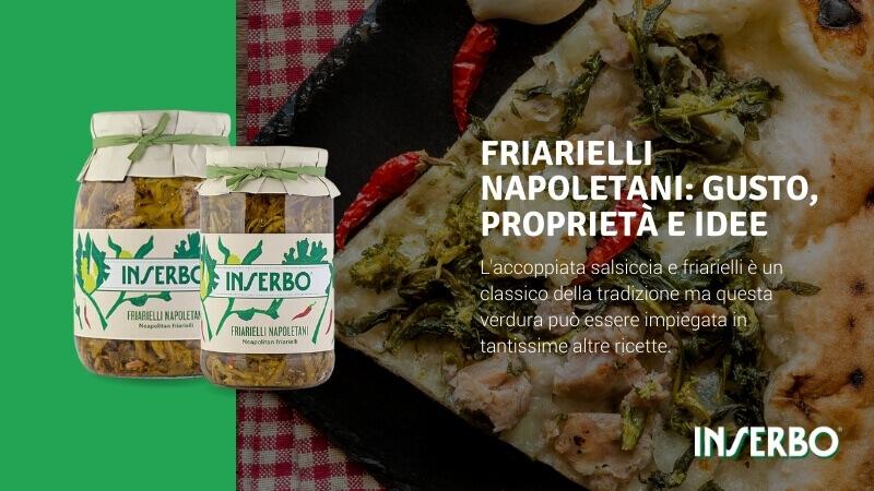 Friarielli napoletani: gusto, proprietà e idee